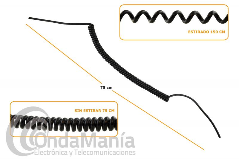 CABLE RIZADO PARA MICROFONO 8 CABLES + MALLA