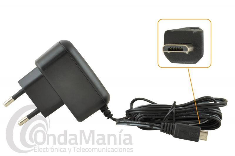 CARGADOR ICOM BC-217SE COMPATIBLE CON EL ICOM IC-M25 - Cargador de 220 V con toma tipo USB-mini ICOM BC-217SE compatible con el Icom marino IC-M25, carga la batería aproximadamente en 3 horas.