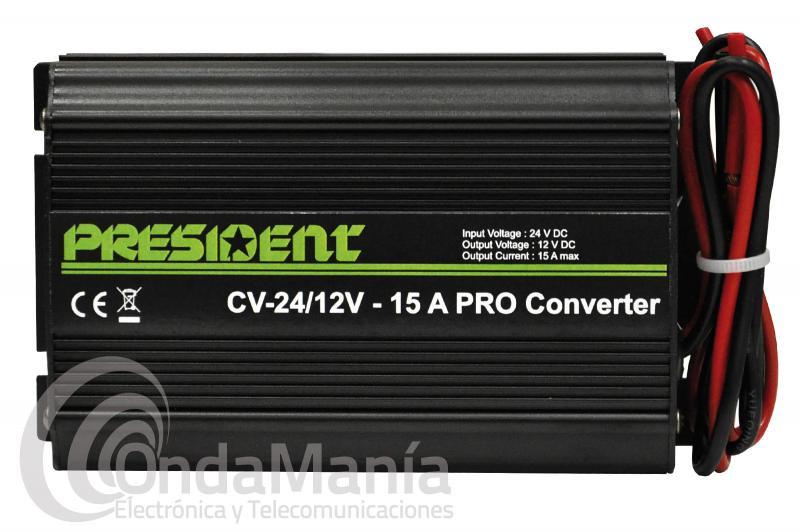 REDUCTOR PRESIDENT CV-24/12 15 AMP. PRO