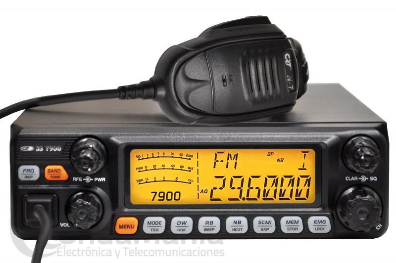 CRT SS-7900 TRANSCEPTOR DE ONDA CORTA CON AM/FM/SSB