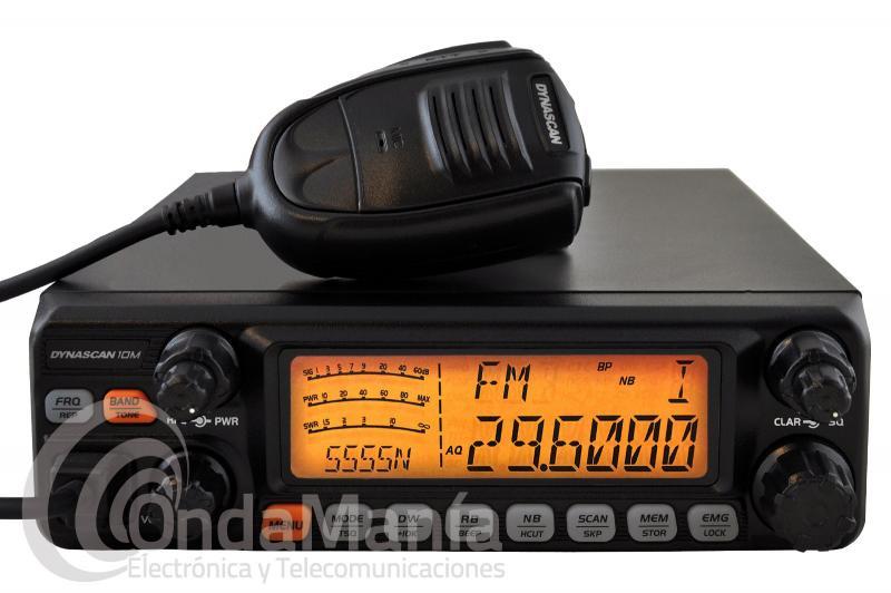 DYNASCAN 10M TRANSCEPTOR DE ONDA CORTA CON AM/FM/SSB + PORTES GRATIS - Dynascan 10M, transceptor de onda corta con AM, FM y banda lateral SSB (LSB y USB). Con 30 W PEP en AM, 25 W en FM y 25 PEP en SSB.