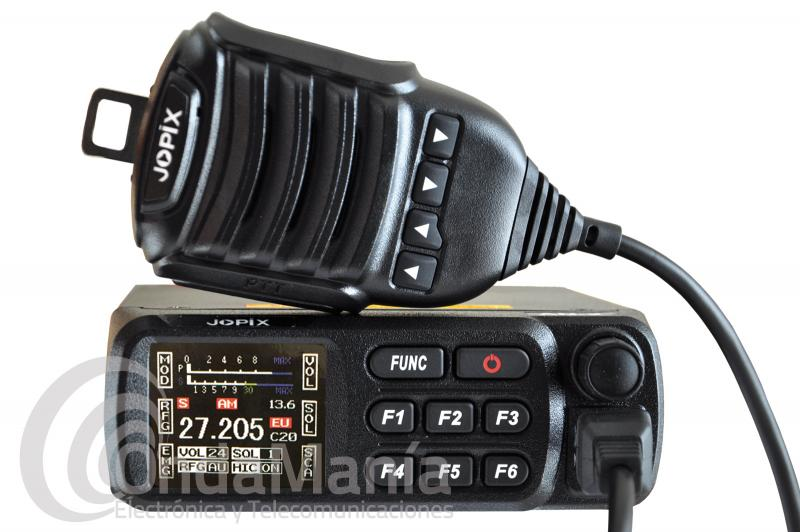 JOPIX AN-2 EMISORA MOVIL DE BANDA CIUDADANA CB-27 MHZ FM/AM MULTINORMA - OFERTA HASTA FIN DE STOCK