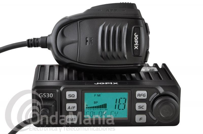 EMISORA DE BANDA CIUDADANA CB 27 MHZ JOPIX GS-30 AM-FM MULTINORMA