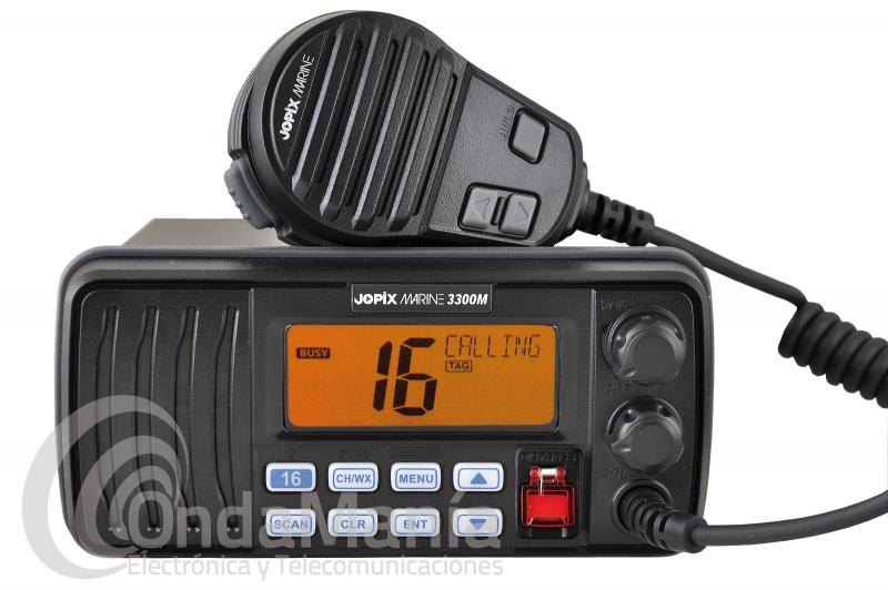 EMISORA MARINA DE VHF JOPIX MARINE 3300D CON DSC