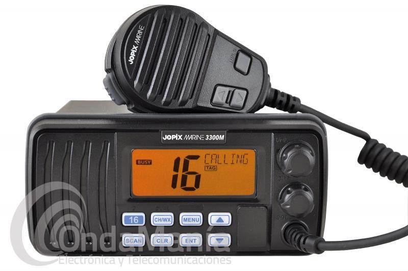 EMISORA MARINA DE VHF JOPIX MARINE 3300 SIN DSC