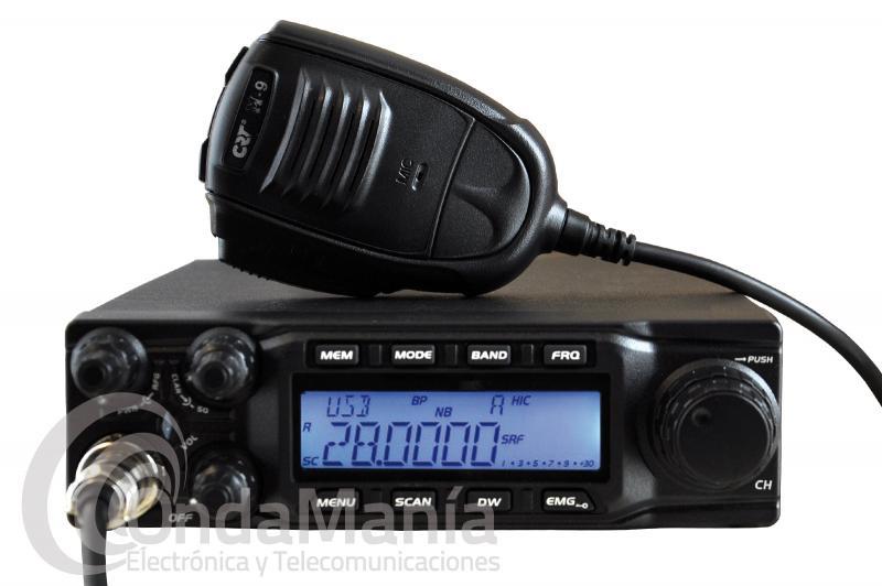 EMISORA CRT SS9900 MOVIL TODO MODO PARA 10 M. EUROPEAN RADIO, CON CTCSS Y DCS