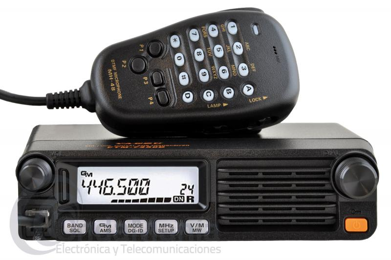 YAESU FTM-7250DE EMISORA MOVIL DOBLE BANDA ANALOGICA Y DIGITAL C4FM COMPATIBLE SYSTEM II FUSION