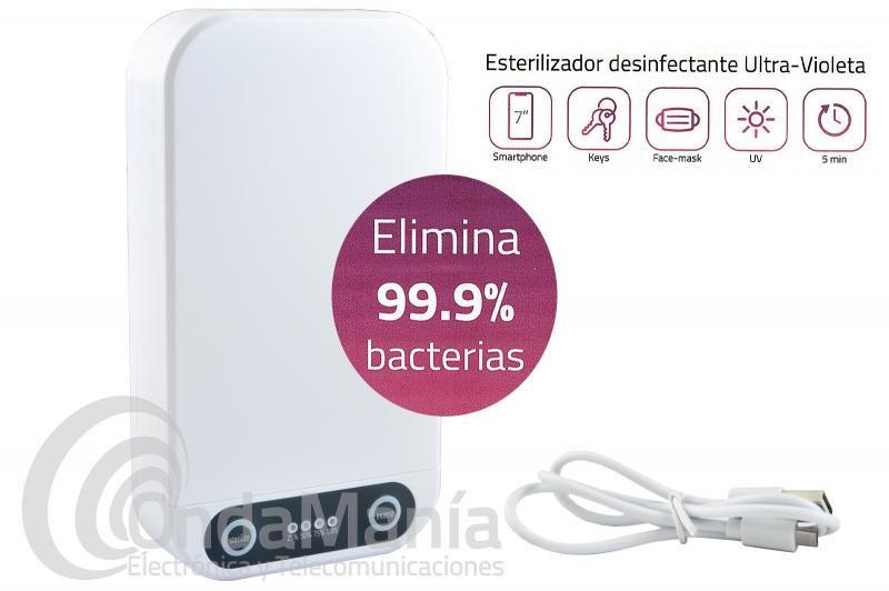 ESTERILIZADOR DESINFECTANTE ULTRAVIOLETA MULTI UV-C