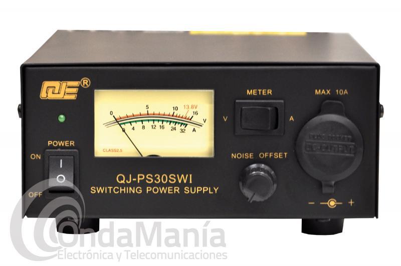 MJE QJ-PS30SWI FUENTE DE ALIMENTACION CONMUTADA CON 13,8 V Y 30 AMP. MAX.