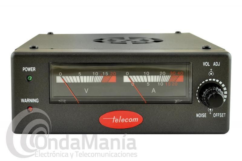 FUENTE DE ALIMENTACION TELECOM AV-830-NF CONMUTADA 25 - 30 AMP.