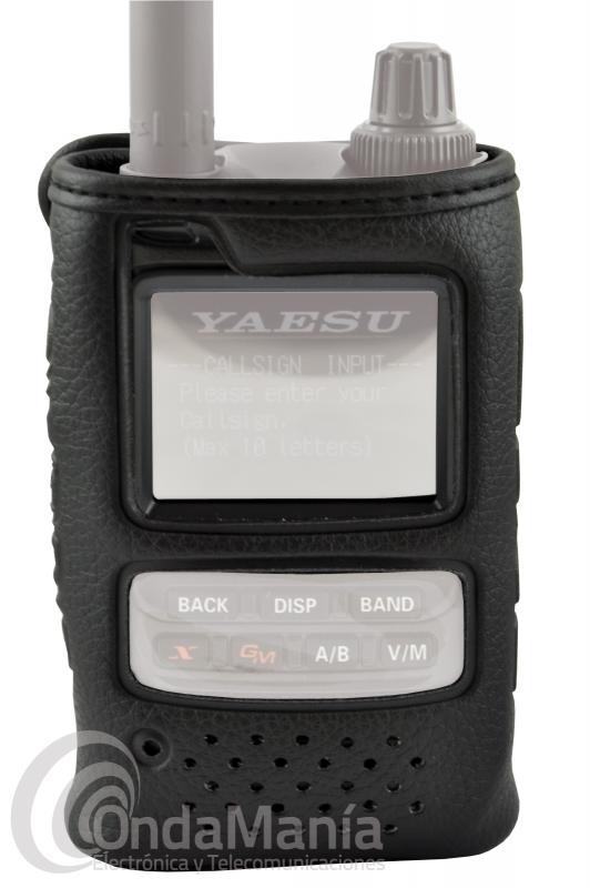 YAESU SHC-34 FUNDA PARA EL YAESU FT-3D