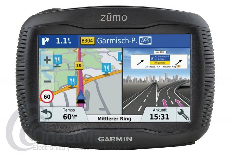 GARMIN ZUMO 395LM EU NAVEGADOR PARA MOTO CON MAPAS DE TODA EUROPA, IPX7+REGALO CAMARA AEE S40