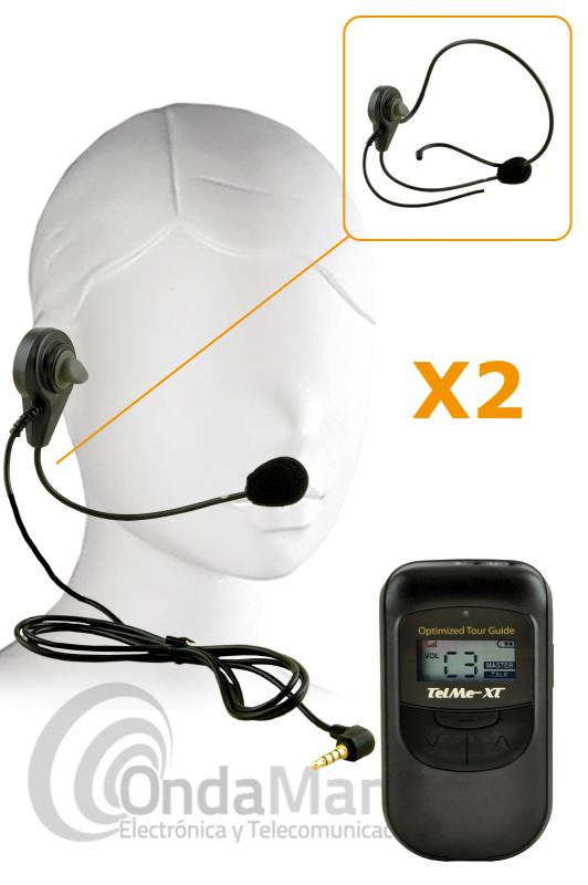 TELME-DUO XT INTERCOMUNICADOR DIGITAL BLUETOOTH PARA ARBITROS FULL DUPLEX TOTAL