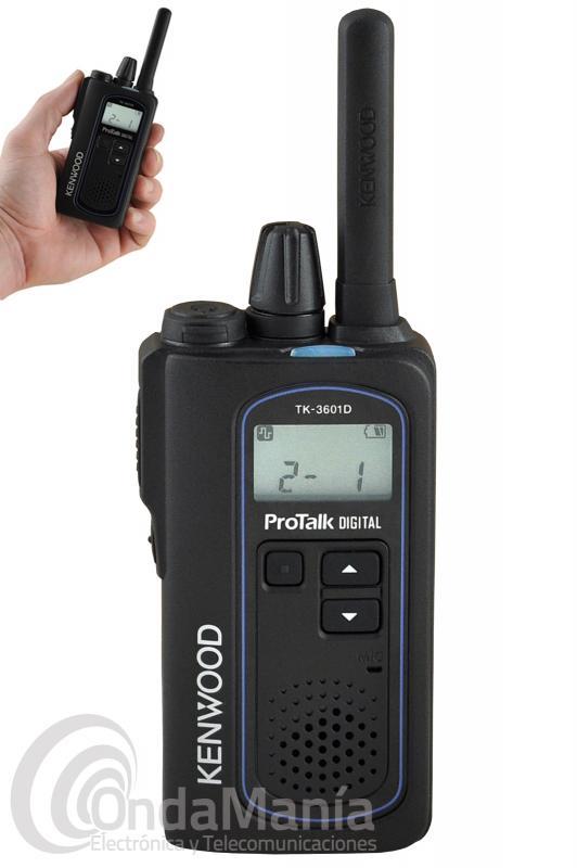 KENWOOD TK-3601D PROTALK ANALOGICO DIGITAL DPMR DE USO LIBRE