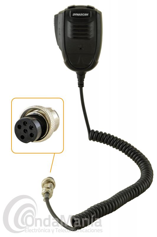 MICROFONO PARA RANGER RCI-2950 - Micrófono original de repuesto para la Ranger RCI-2950.