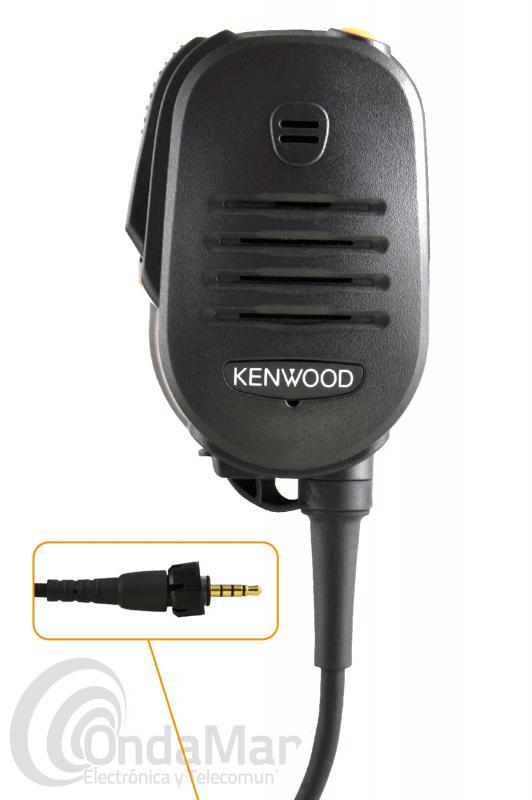 MICRO-ALTAVOZ KENWOOD KMC-55 COMPATIBLE CON LOS KENWOOD TK-3601D Y DECT