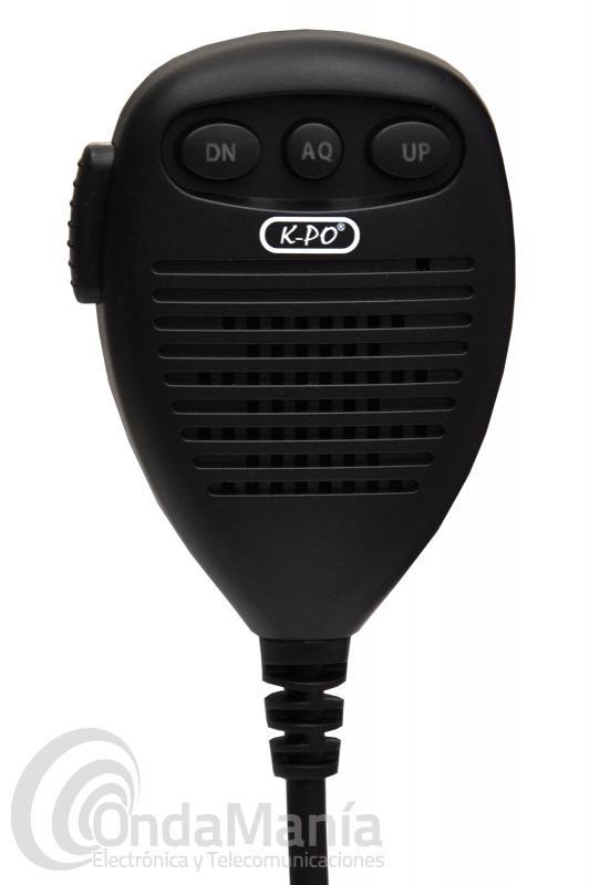 MICROFONO PARA ANYTONE AT-5555, K-PO DX-5000, CRT SS-6900,....