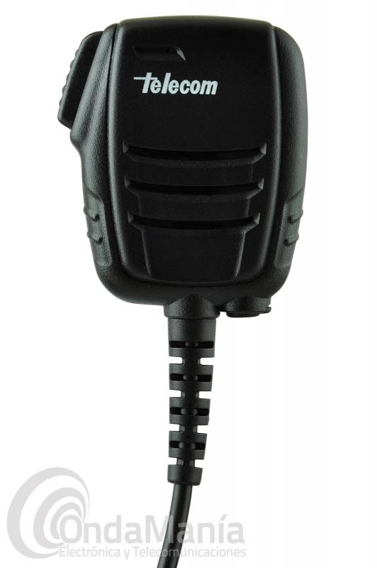 MICRO-ALTAVOZ TELECOM JD-720-DMR COMPATIBLE CON MOTOROLA DP-3400/3401/3600/3601,..
