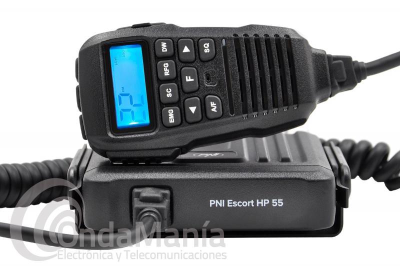EMISORA DE BANDA CIUDADANA CB-27 PNI ESCORT HP-55 ASQ CON AM/FM, MICROFONO CON LCD,...