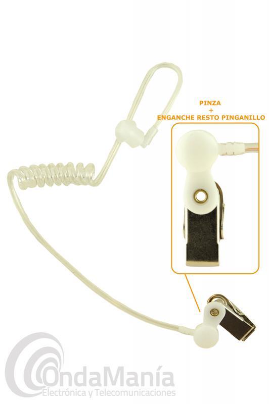 RECAMBIO AURICULAR 140K - Repuesto para el auricular del micrófono auricular 140K