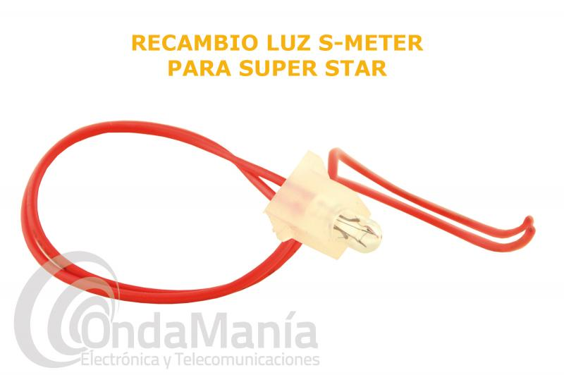 LAMPARITA CON CABLE PARA SUPER STAR 3600, 3900, SUPER JOPIX 1000, 2000,...