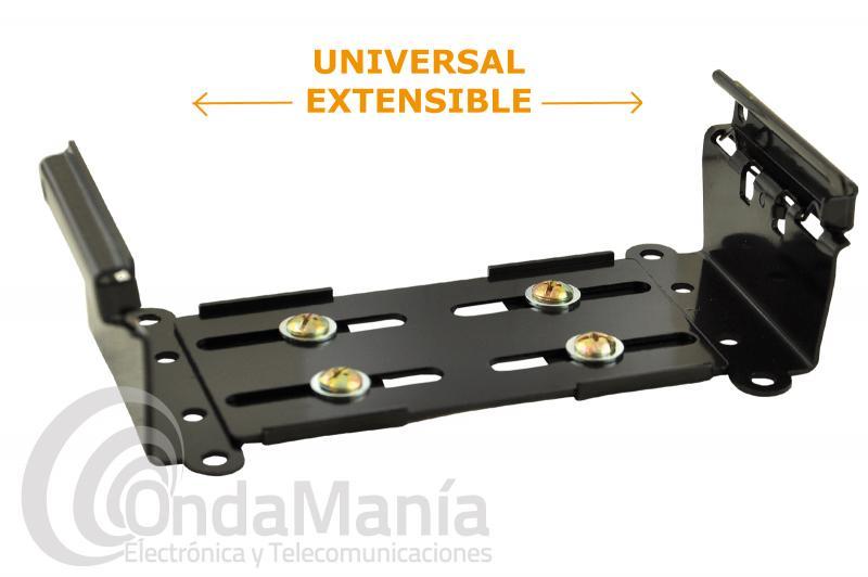 CA-020-8 SOPORTE UNIVERSAL PARA EMISORAS - Soporte universal extensible para emisoras