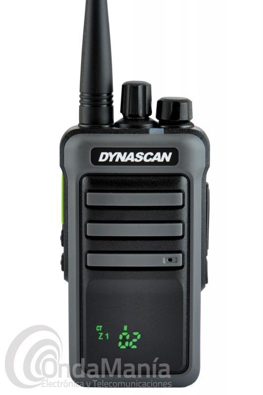 WALKIE DYNASCAN RL-300 UHF, 256 CANALES, IDEAL PARA CAZA(ARAGON, NAVARRA, ADECANA,CATALUÑA,GIPUZKOA)