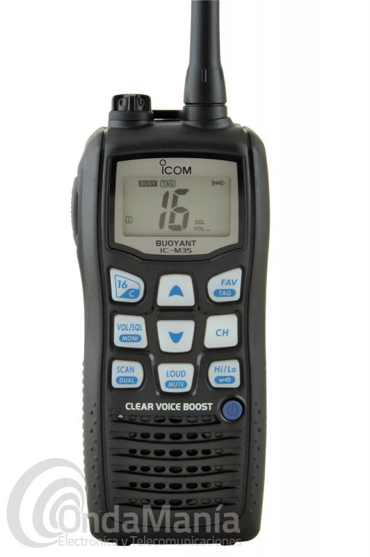 SUSTITUIDO POR IC-M37 - WALKI TALKI ICOM IC-M35 PORTATIL VHF MARINA