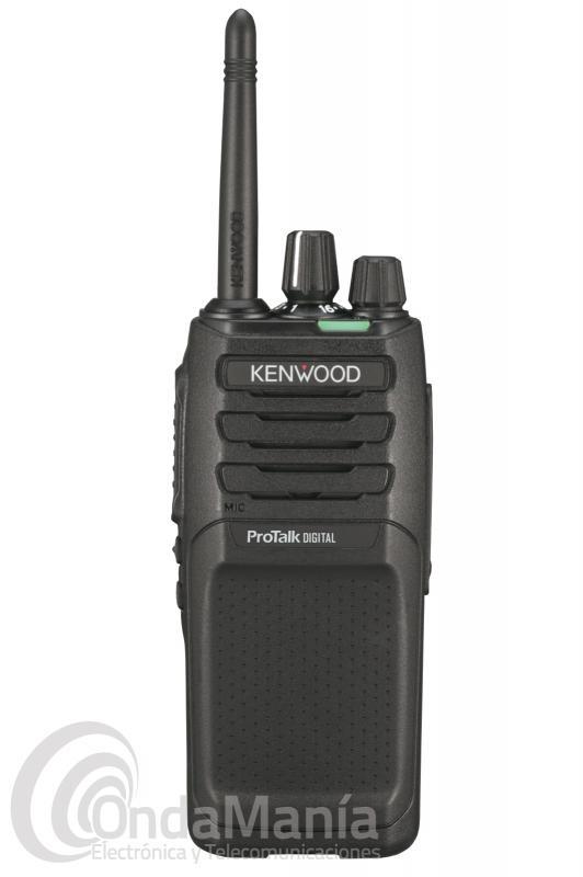 WALKIE TALKIE dPMR-446 DE USO LIBRE KENWOOD TK-3701DE DIGITAL Y ANALOGICO CON 48 CANALES+PINGANILLO