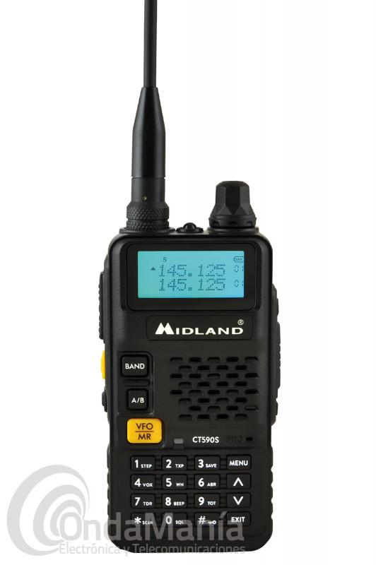 WALKI TALKI DOBLE BANDA MIDLAND CT-590S UHF Y VHF