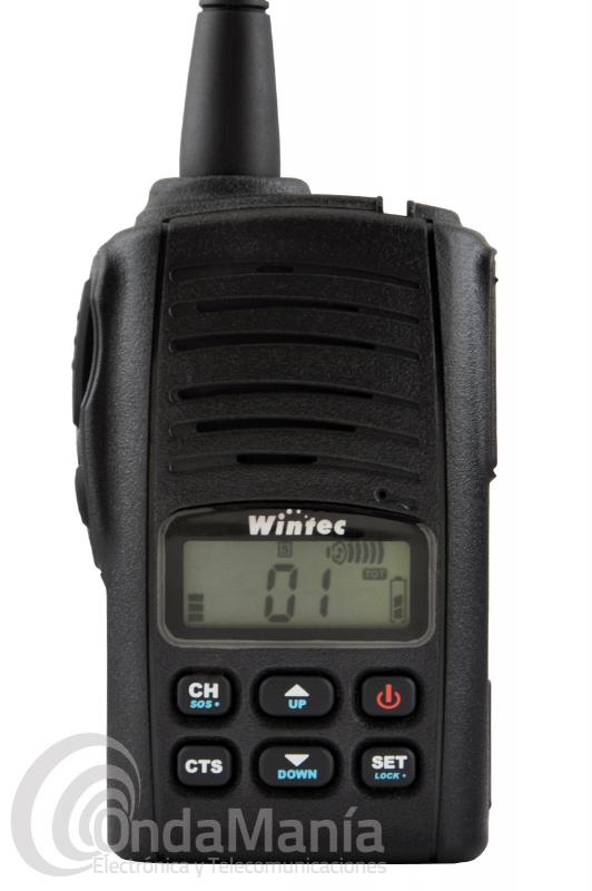 WINTEC LP-4502+ NUEVA VERSION DEL PMR-446 DE USO LIBRE