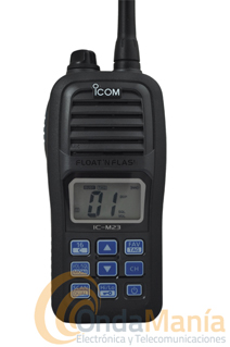 ICOM IC-M23 PORTATIL VHF MARINO-REGALO FUNDA ESTANCA