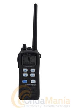 ICOM IC-M71 - El Icom IC_M71 es un portatil marino con 6W. de potencia, resistente al agua y con un alto nivel de audio