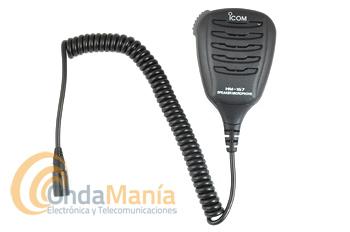 ICOM HM-167 MICROFONO ALTAVOZ ROBUSTO CON STANDART IPX8 - Micrófono altavoz de mano Icom HM-167 robusto y resistente al agua, con estandar IPX8 compatible con los Icom IC-M73 Euro, IC-M73 Euro Plus,...