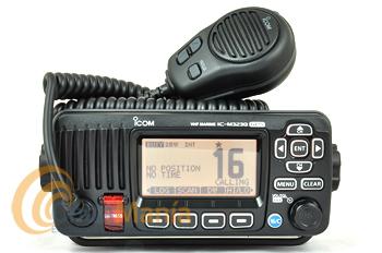 ICOM IC-M323G NEGRO TRANSCEPTOR MARINO VHF IPX7 DSC CLASE D Y GPS