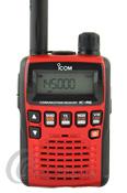 ICOM IC-R6 METALLIC RED RECEPTOR PORTATIL - Receptor portátil (escaner) de 0,100 a 1.309,995 MHz., 1300 canales de memoria y con los siguientes modos: AM - FM y WFM incluye entre otros accesorios batería de Ni-Mh y cargador.