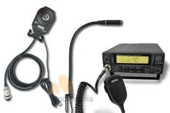 PACK JOPIX ITACA + MICROFONO MANOS LIBRES - Pack Jopix Itaca con AM/FM y Banda Lateral incluye micrófono manos libres con flexo.