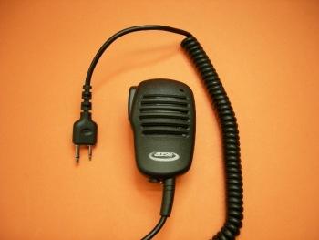 TELECOM JD-3601S - Micrófono Altavoz de reducidas dimensiones para Yaesu, Standart, Alinco, Kombix, Hora, etc.