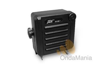 JDI JD-SB1 NEGRO - El altavoz supletorio exterior JDI JD-SB1 negro incluye un conmutador de volumen y esta preparado para el uso en exterior (norma IP-54).