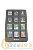 JETFON ED-50 TECLADO MEMORIA - Con este teclado podemos incrementar la memoria de cualquier tipo de teléfono, incluye teclas grandes con tarjetero identificador.