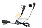 MICROFONO AURICULAR TIPO BOTON - Micrófono auricular tipo botón para Kenwood, Midland, Dynascan,...