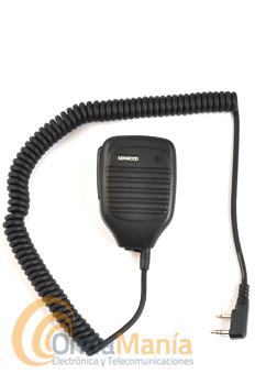 KENWOOD KMC-21 MICRO-ALTAVOZ - Micrófono altavoz para portátiles Kenwood. Series 60/70/160/TK-3201, TK-3301, TK-3401, TK-3501, TH-K20, TK-2000, TK-3000 etc.... Dynascan, Baofeng, Midland,...