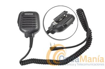 KENWOOD KMC-45D MICROFONO ALTAVOZ DE ALTA CALIDAD IP54/IP55 - Micro-altavoz H.Q. (alta calidad) KENWOOD para portátiles Kenwood, Dynascan, Wouxun, Midland, Baofeng,...
