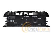 AMPLIFICADOR LINEAL CON PREVIO L100R - Amplificador lineal con previo para la banda de 10 metros de 26 a 30 Mhz con 100 W de potencia