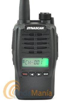 DYNASCAN L44 PLUS CON DISPLAY LCD PMR DE USO LIBRE CON RADIO FM+PINGANILLO DE REGALO