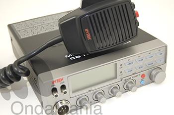 INTEK M-495P TRANSCEPTOR DE 27 MHZ. - Transceptor de 27 Mhz. Intek M-495P multiestándar con 40 canales AM/FM con frontal plateado y paso final Mosfet que le garantiza el máximo nivel de potencia con un uso continuado.