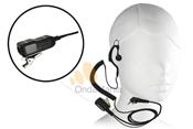 MICRO-AURICULAR MIDLAND MA-21LK - Midland MA-21LK micrófono auricular ergonómico con cable rizado ideal para Kenwood, Dynascan, Midland,...