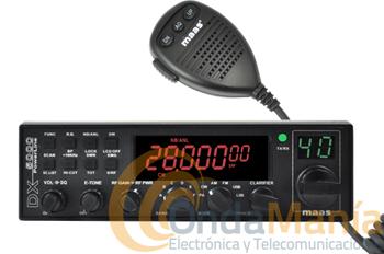 MAAS DX-5000 VERSION V5 TRANSCEPTOR TODO MODO DE 10 MTS. - Transceptor de HF10 mts de 28.000 Mhz a 29.700 Mhz con una potencia de 12 W en AM y FM y 21 W en banda lateral SSB, versión V5.