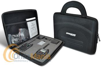 DYNASCAN AD-09 BOX V2 CON MALETA DE TRANSPORTE Y ACCESORIOS