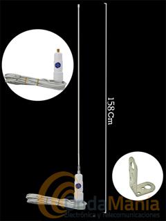 SIRTEL MARIS 2000 - Antena náutica de sujeción en mastil o